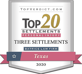 Top 20 Settlements Personal Injury